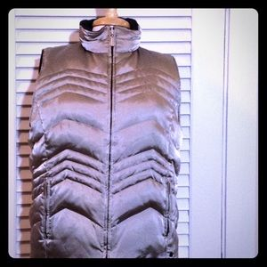 New York & Company Reversible Puffer Vest